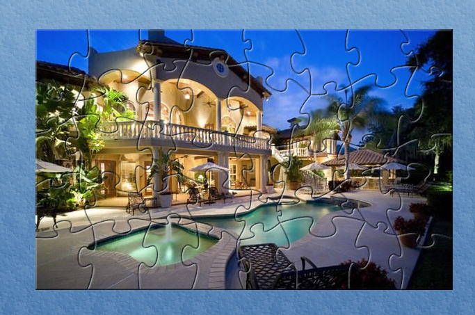 Click to view GCS Dream House Puzzle 1 screenshot